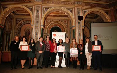 Begoña Sánchez Ramos, madrina de la III Edición de los premios Dona i Dona, iniciativa de RSC de Evap, Asociación Valenciana de Empresarias y Profesionales