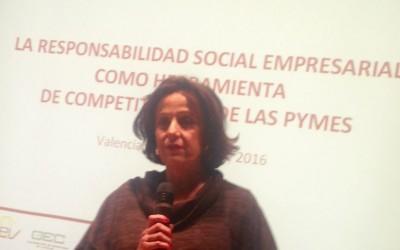 Éxito de la Jornada de CIERVAL sobre La Responsabilidad Social Empresarial como Herramienta de competitividad de las PYMES