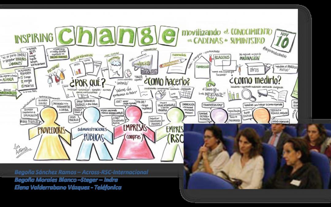 """Across-RSC-Internacional, participo activamente en el taller """"Movilizando el Conocimiento en Cadenas de Suministro"""", que tuvo lugar en la EOI, compartiendo su knowhow en esta iniciativa de co-innovación."""
