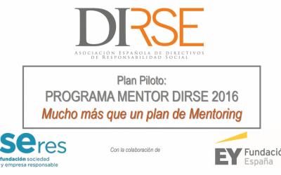 La Asamblea Anual de DIRSE pone en contacto a directivos de RSE y anuncia su nuevo programa de Mentoring: Mentor DIRSE 2016