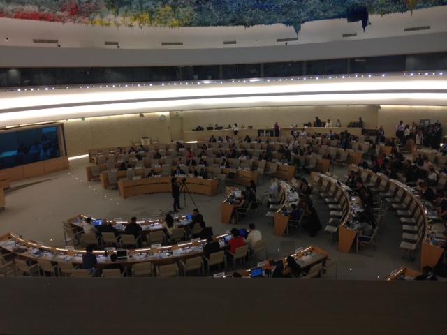 Across -RSC- International, presente en el curso sobre Medios de Comunicación y Derechos Humanos en la sede de la Unesco en Ginebra