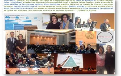 El conocimiento y consultoría de Empresa y Derechos Humanos, avanza día a día.  Across-RSC-Internacional, en el V Foro de Empresa y Derechos Humanos de NNUU.  En primera línea, acompañando a las empresas en este avance.